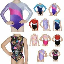 BRAND NEW ROCH VALLEY GIRLS SLEEVELESS LONG SLEEVE GYM GYMNASTICS LEOTARD LEO