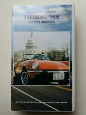Triumphs across America - video VHS - As new