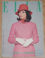 ELLA #49 1966 Marisa Berenson Line Renaud Ionesco spain magazine pret-a-porter