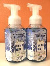 2 BATH & BODY WORKS MARSHMALLOW FLURRIES GENTLE FOAMING HAND SOAP 8.75 OZ SHEA