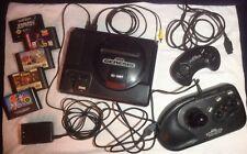 Sega Genisis Bundle (Includes: Console, Arcade Stick, Controller and 5 Games)