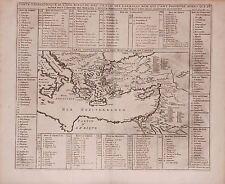Antique map, Carte geographique de l'Asie Mineure avec . etat des premiers rois