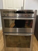 NEFF MULTIFUNCTION ELECTRIC DOUBLE OVEN WITH GRILL BUILT IN STAINLESS STEEL