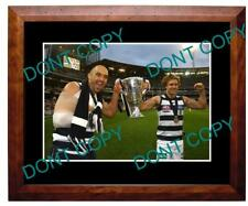 DUNCAN & PODSIADLY GEELONG CATS 2011 PREMIERS A3 PHOTO