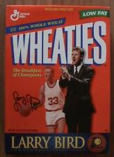 Larry Bird Original Vintage Sports Cereal Boxes