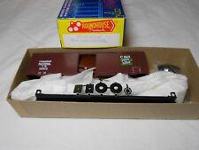 HO TRAIN ROUNDHOUSE 40' AAR BOXCAR KIT CANADIAN NATIONAL CN MINT!