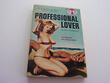 PROFESSIONAL LOVER  1964  BEN ANDERTON  BUXOM DAMSELS WITH DEVIANT NEEDS  VG-