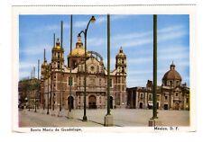 Santa Maria de Guadalope, Mexico City, Mexico, Vintage Postcard, Mar18