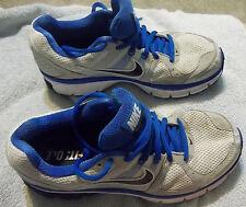 Nike Air Pegasus 28 White/Blue Spark Running Shoes 443805-104 Men's sz 6 FreeShi