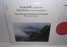 Chesky RC10 Prokofiev Stravinsky  Chicago Symphony Orchestra Fritz Reiner