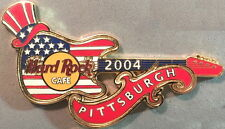 Hard Rock Cafe PITTSBURGH 2004 July Special Event Guitar PIN HRC Catalog #23440