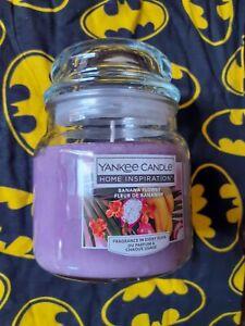 New Yankee Candle medium  jar - banana flower