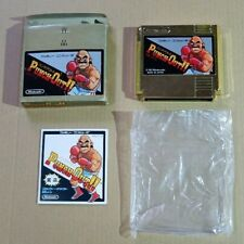 Punch Out Gold Cartridge Famicom NES JP GAME nintendo limited F/S japan