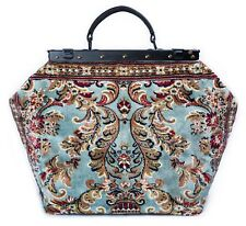 LARGE VICTORIAN-STYLE MARY POPPINS CARPET BAG. NEW COLLECTION