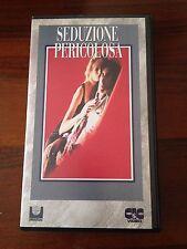 Seduzione pericolosa - Film VHS anno 1989