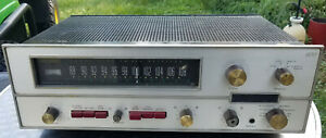Vintage The Fisher 600 T AM/FM Stereo Receiver Parts/As is