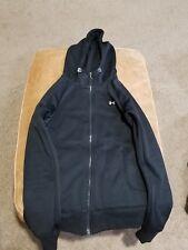 Under Armour Womens Black Hoodie Zipper Sweatshirt Size XS