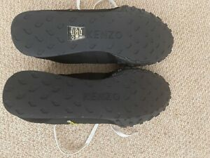 kenzo men's trainers black new very comfy light excellent condition