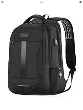 Women Men Boys Travel Backpack for Laptop and Notebook High School College Black