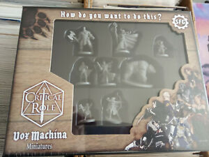 STEAMORGED GAMES CRITICAL ROLE VOX MACHINA MINIATURES SET - NEW AND SEALED