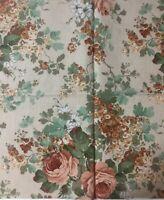 """""""MAYROSE"""" Autumn SM9931  Vintage Retro Sanderson Fabric Sampler Remnant"""