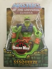 Sssqueeze - Masters of the Universe Classics MOTUC - New Action Figure Snake Men