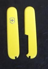 Victorinox Ersatzschalen gelb, yellow 91 mm, Taschenmesser, Sackmesser, new