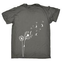 Dandelion Flower Climbing MENS T-SHIRT tee birthday gift climber hippie freedom