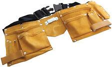 Am-Tech 11 Pocket Leather Tool Belt