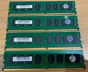 32GB Kit DDR4 PC4-17000U 2133MHz Non-ECC DIMM RAM