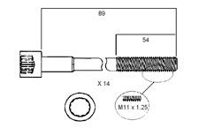 PERMASEAL HEAD BOLTS KIT FOR TOYOTA 1JZ-GTE 2JZ-GE 2JZ-GTE LEXUS IS300 GS300