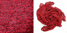 ladies' fashion large animal leopard print crinkle scarf shawl , 13 Colour