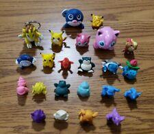 Pokemon Nintendo Figure Lot Erasers PVC Pencil Toppers Etc. Rare