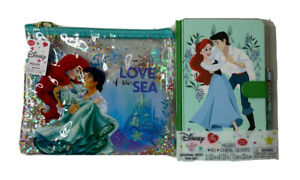 Walgreens Exclusive Disney The Little Mermaid Pouch And Journal With Pen Set