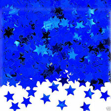 Blue Star Shape Table Confetti Sprinkles Blue Party Table Decorations