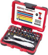 KS Tools Torsion Power 1/4'' Bit Satz 32-tlg. Umschaltknarre Ratsche 918.3010