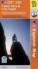 Cadair Idris and Llyn Tegid (OS Explorer... by Ordnance Survey Sheet map, folded