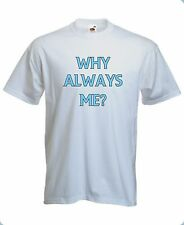 T-Shirt Hi-Qty Balotelli Why Always Me? Mario Manchester City tg. S->XL