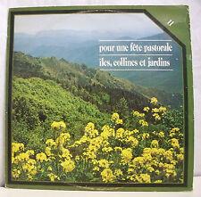 """33T RAVEL LISZT DEBUSSY LP 12"""" FETE PASTORALE - ILE JARDIN -RCA S R. D. 97 SM 11"""