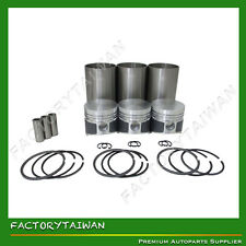 Liner Piston Kit Set STD for KUBOTA D850 (Liner x 3 + Piston x 3 + Ring x 3)