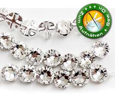 50 SWAROVSKI Kristalle Flat Back 53103, 7 mm Crystal (Steine zum Aufnähen)