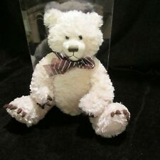 First And Main Collectible Plush Teddy Bear Claude #1565