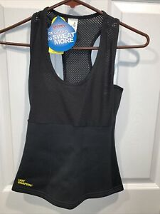 Neotex Hot Shapers Tank Yoga Sweat Top Small