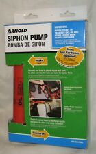 Arnold Universal Siphon Pump 490-850-0008 Transfer Gasoline Oil - Other Liquids