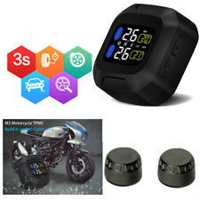 Waterproof Wireless Motorcycle Tire Pressure Monitoring System For Two-wheeled