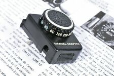 OLYMPUS OM10 FILM CAMERA MANUAL ADAPTER WITH COPY MANUAL SHEET FOR MAUAL MODE