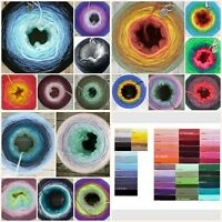 Handmade gradient yarn cake in your choice of shades Ombre Yarn Multicolour Yarn