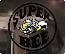 SUPER BEE DODGE CHARGER Adesivi Sticker autocollante Muscle Car USA DESTRA