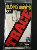 Trace Softball Baseball Sliding Shorts Made In USA Size L NEW!
