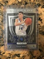 2019 Panini Prizm Draft Picks Tyler Herro Crusade Rookie RC Kentucky Heat #75🔥